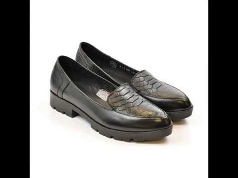 Женские туфли на низком каблуке (Каталог Mangus 2017)