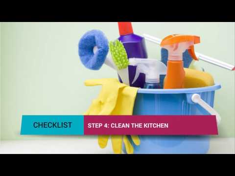 Bond Cleaning Brisbane Checklist
