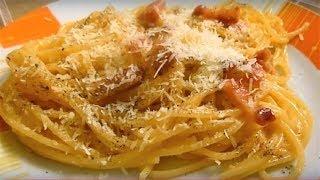Pasta Carbonara Recipe Italian Food #carbonara