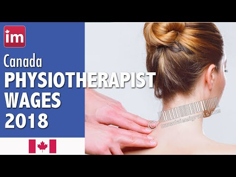 Physiotherapist Salary In Canada (2018) - Wages In Canada