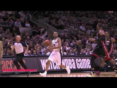 Tim Duncan Full Highlight vs Heat Game 2 , 18 Pts, 15 Reb , HD