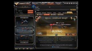 Crossfire PH 2.0- Buying Barrett M82A1 Obsidian Beast IGN: Acrivastine