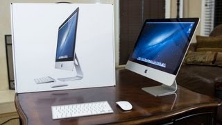 "New Apple iMac (2013) 21.5"" Unboxing & Demo"