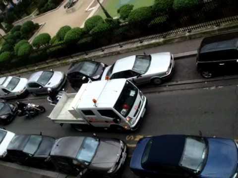 Paris parking chaos