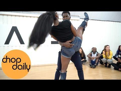 Maleek Berry - Doing U (Afro In Heels Dance Video) | Patience J Choreography | Chop Daily