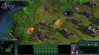 StarCraft II: Terran Gameplay