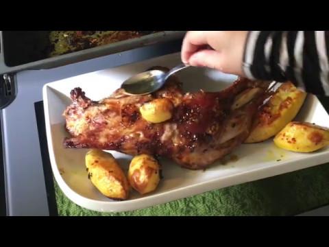 🌺Готовим у Каси / Индейка в духовке запечённая с картофелем