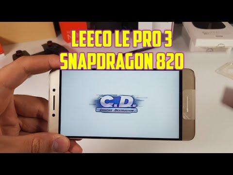 Leeco Le Pro 3 Creative Destruction Gameplay Ultra High Settings Snapdragon 820 Adreno 530