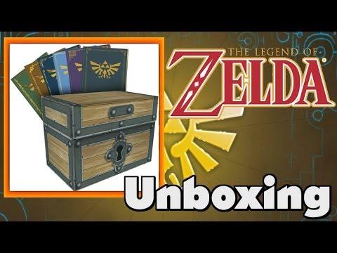 The Legend Of Zelda: Box Set - Prima Game Guides Colletors Edition Unboxing