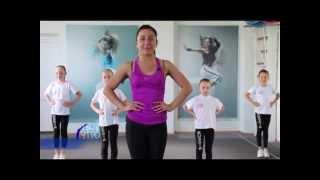 Смотреть видео танцевальная разминка для детей видео