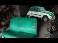 2CV réparation sièges conducteur (citroën 2CV)