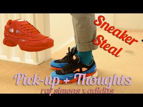 Sneaker Steal: Raf Simons x Adidas Ozweego 2 Pick up & On feet view + Thoughts