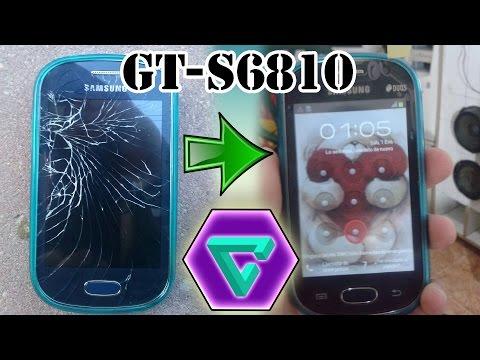 Reparación pantalla tactil Samsung Galaxy Fame GT-S6810P - Reparación Samsung Galaxy Fame GT-S6810P