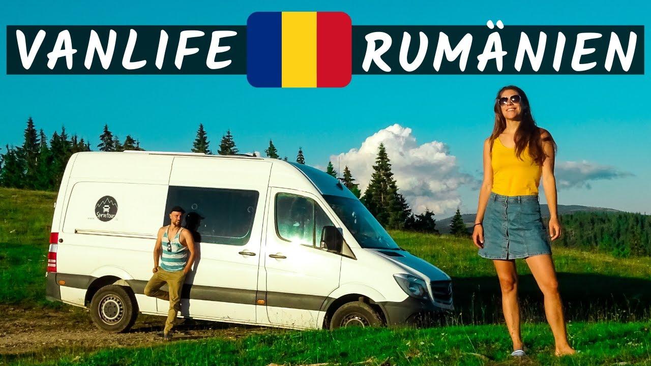 Rumänien Urlaub  VANLIFE  Mit dem Wohnmobil durch Rumänien