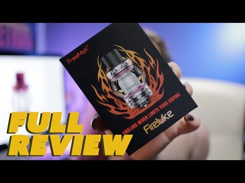 """Holy Cow! This Thing Is CRAZY!"" Full Review Of The FireLuke Tank By Freemax Vape"
