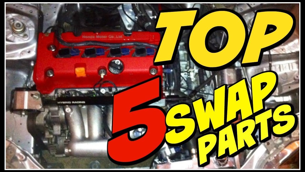 Top 5 K Series Swap Parts Needed For Your Civic Integra Youtube 2jzgte Wiring Harness Premium
