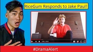 RiceGum RESPONDS to Jake Paul! #DramaAlert Logan Paul's Lil Brother! Erika Costell LYING!