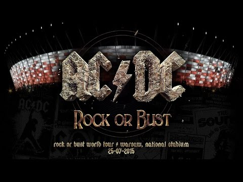 AC/DC Rock or Bust World Tour in Warsaw, Poland