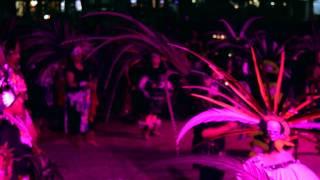 Dia De Los Muertos Danza Azteca Ceremony 2014