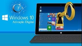 🔴 Ative seu Windows 10 de Graça com uma licença Digital