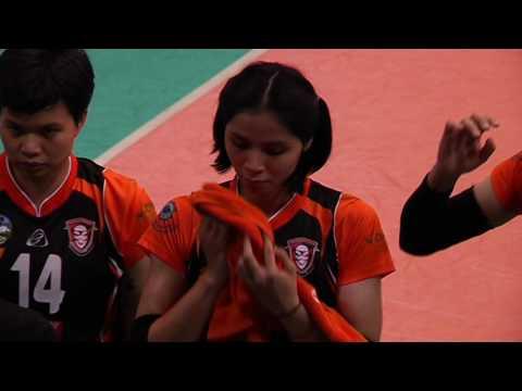 18-03-60 วอลเลย์บอลไทยแลนด์ลีก 2017 ทีมหญิง 3BB นครนนท์ พบ นครราชสีมา เดอะมอลล์ วีซี