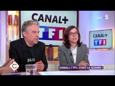 Canal+ / TF1 : c'est la guerre ! - C à Vous - 07/03/2018