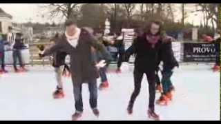 Une patinoire éphémère à Rambouillet