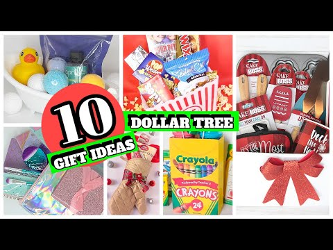 10 UNIQUE DOLLAR TREE GIFT IDEAS