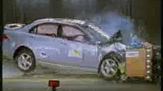 Crash Test of 2003/2004 Honda Accord/ Acura Tsx w/sab