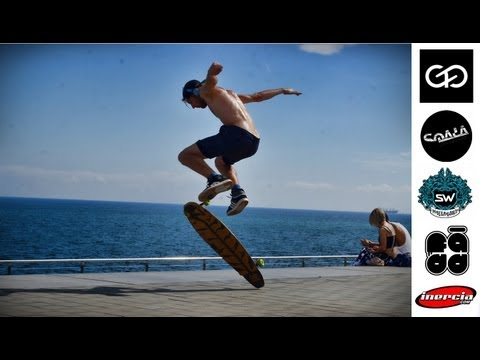 Barcelona Longboard Freestyle - Carl Fölster & friends