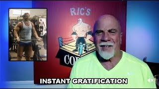 Instant Gratification   Are you getting in Shape Fast Enough?
