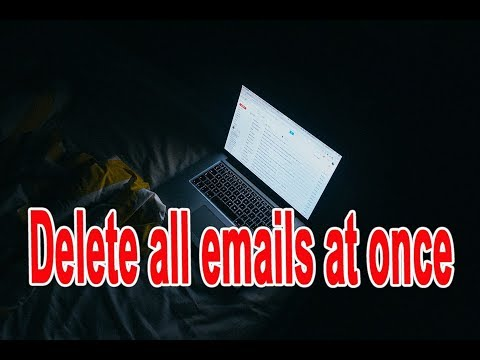 How to delete all emails on Gmail at once