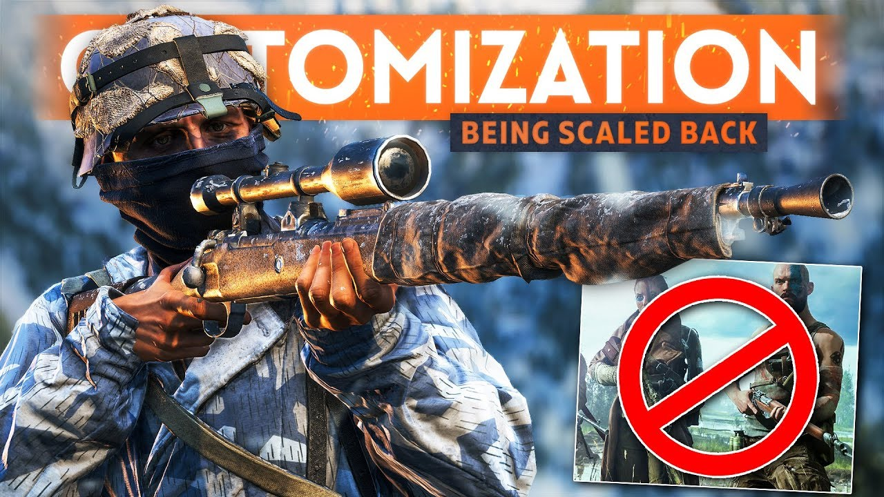 WACKY COSMETIC SOLDIER CUSTOMIZATION Is Being Scaled Back, Says EA - Battlefield 5