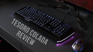 tesoro Colada Evil Mechanical Gaming Keyboard Review  Comparison!