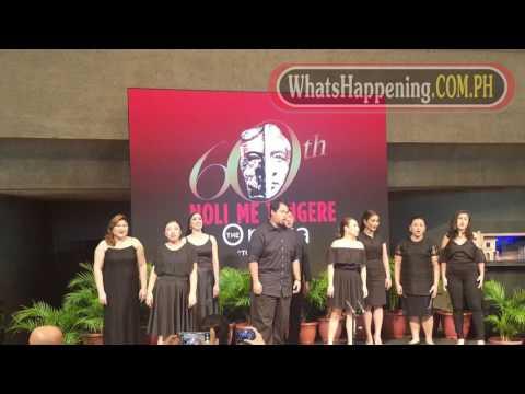 Noli Me Tangere The Opera Presscon