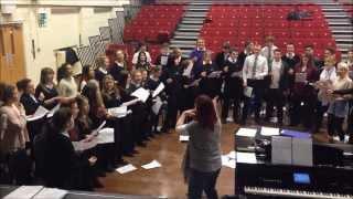 "Boston Youth Pop Choir - Rehearsal 12/02/14 - ""Happy"""