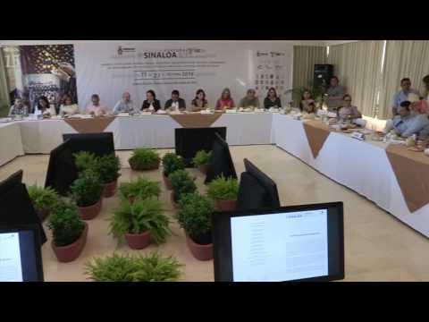 Conferencia de prensa, Festival Cultural Sinaloa 2016. Parte 1/2 (04 Octubre 2016)