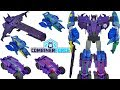 Transformers Combiner Force Galvatronus Robots in Disguise 5 Decepticons Vs Ultrabee Menasor