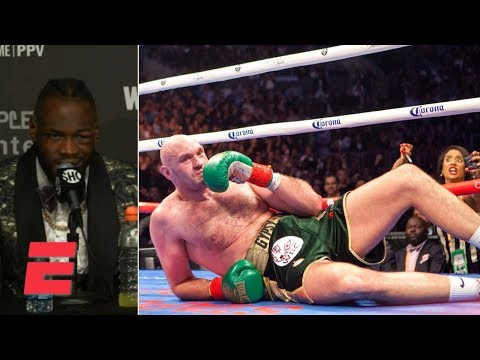 Deontay Wilder on Tyson Fury in the 12th round: 'Only God knows how he got back up' | Boxing