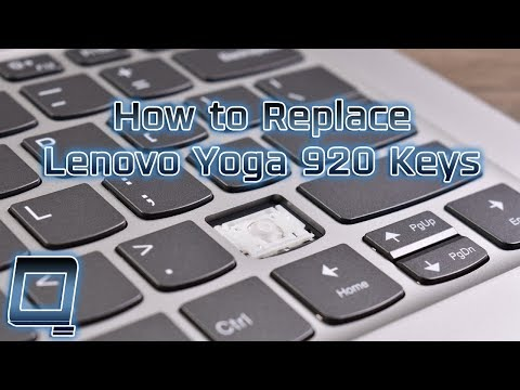 How To Replace Lenovo Yoga 920 Laptop Keys