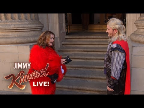 Guest Host Melissa McCarthy Late to Kimmel