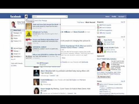 New Facebook Redesign: Coffee w/ Harrison