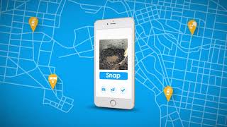 Report an environmental incident with Snap Send Solve
