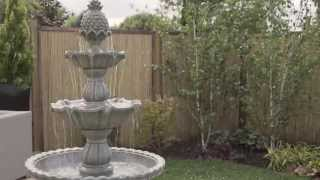 How to Assemble a Tiered Water Feature