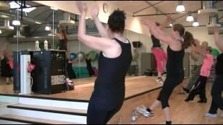 zumba fitness med maria avicii wake me up warm up
