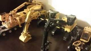 Complete 1:50 Scale Logging/Forestry Machines