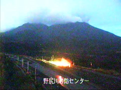 Strange Lights @ Sakurajima Volcano Japan