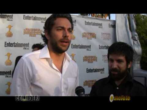 Zach Levi and Joshua Gomez from NBC's Chuck at the 2009 Saturn Awards in Burbank
