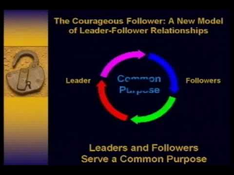 Ira Chaleff: Tobias Center 2:  The Courageous Follower Model  (2009)