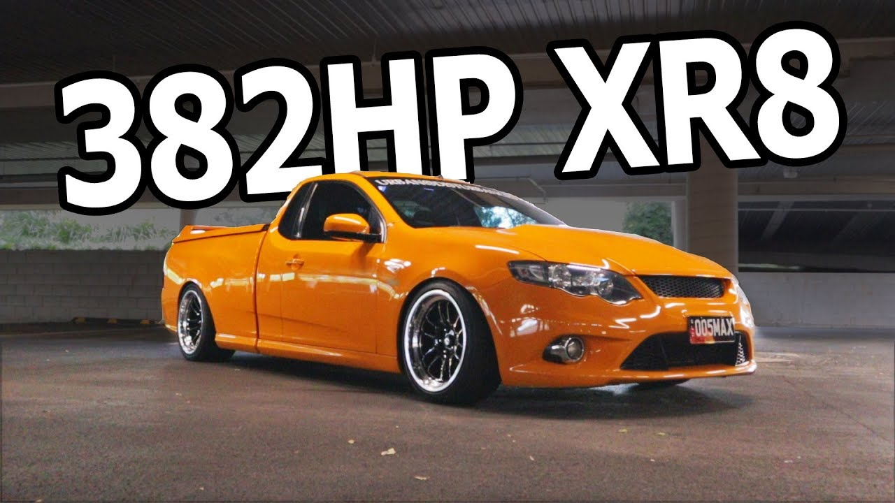 Max S 382hp Ford Falcon Xr8 Ute Youtube